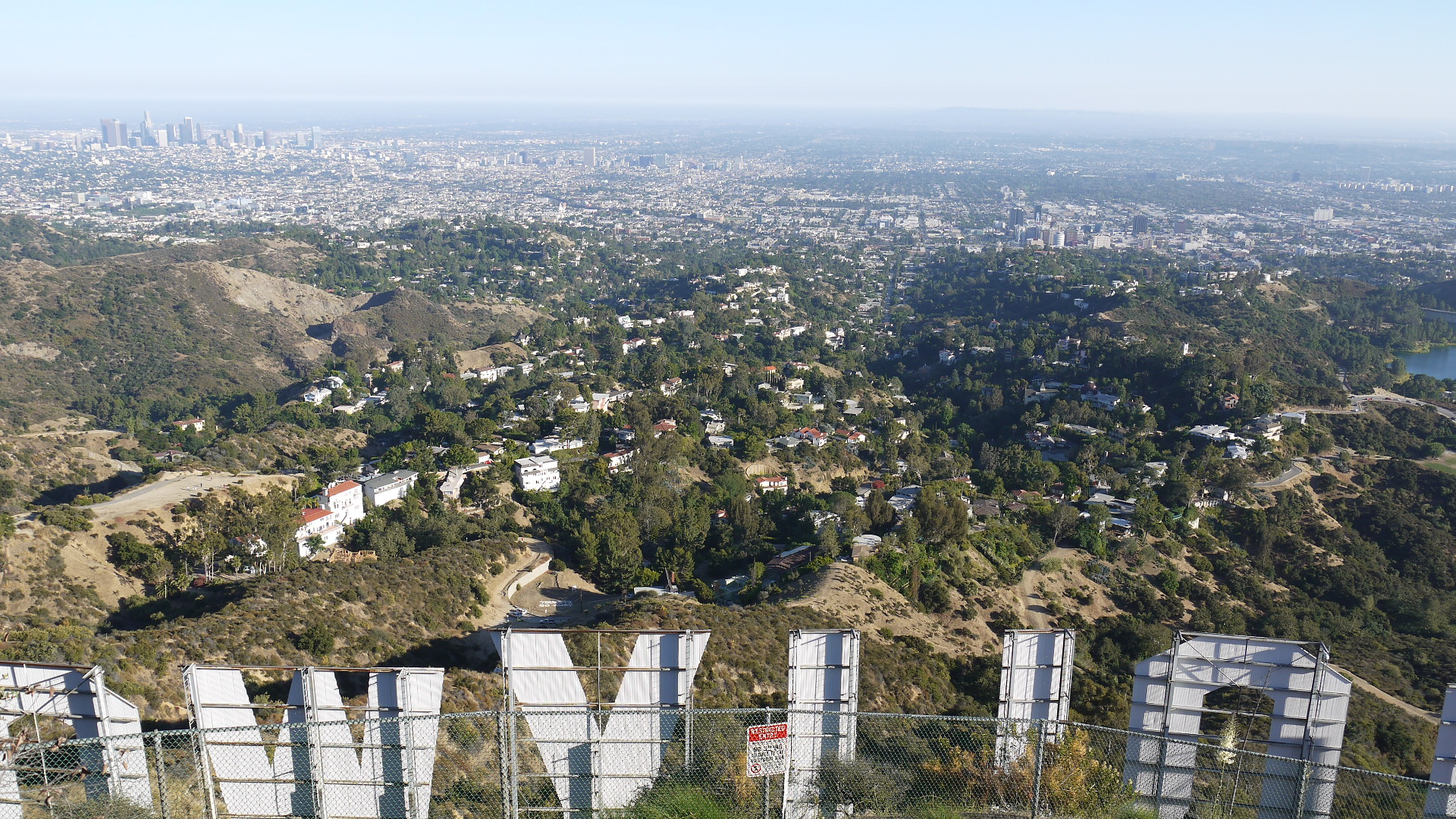And You Get To The Highest Point Behind Hollywood Sign So Cool