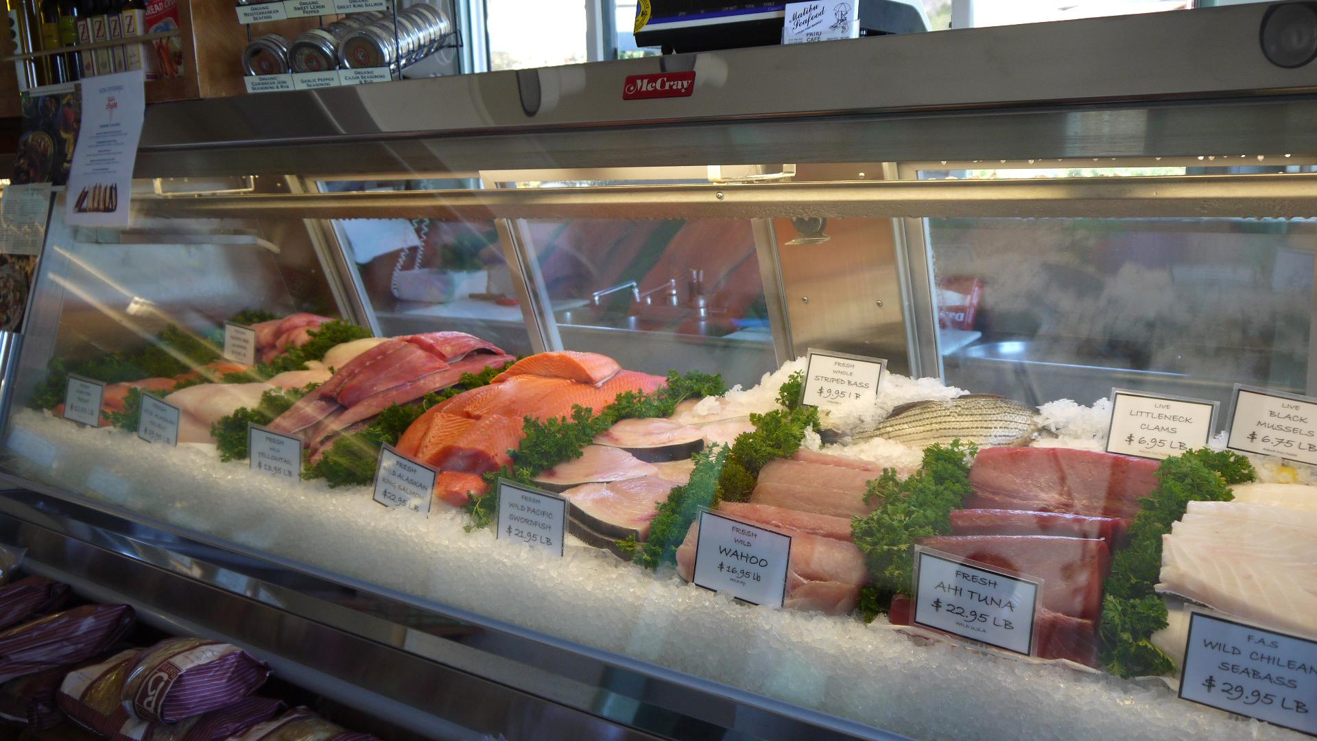 Malibu seafood malibu ca alphabet city studio for Fish market hours